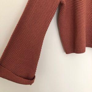 Roxy Sweaters - Roxy Sorrento Shades Bell Sleeve Sweater